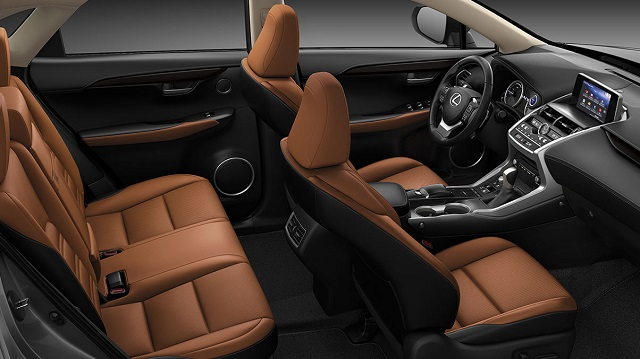 2021 Lexus NX 300 interior