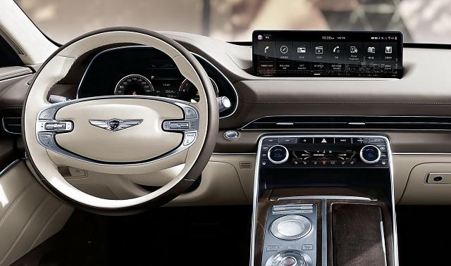 2021 Genesis GV80 Interior