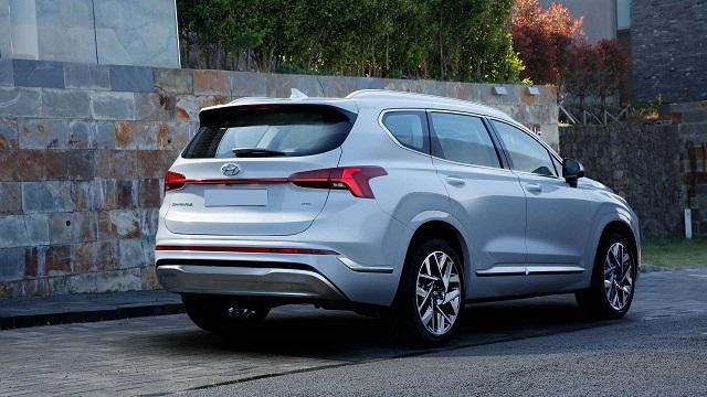 2021 Hyundai Santa Fe changes