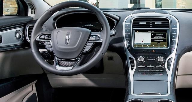 2021 Lincoln Nautilus Changes Interior