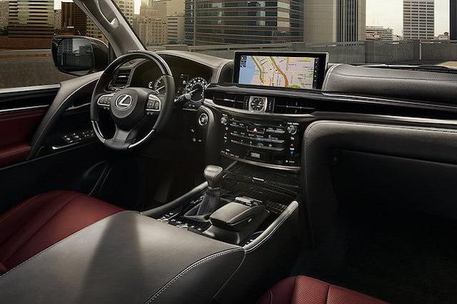 2020 Lexus LX 570 changes