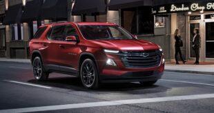 2021 Chevrolet Traverse Redline Edition featured