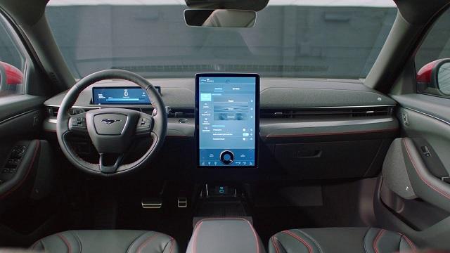 2021 Ford Mustang Mach-E Interior
