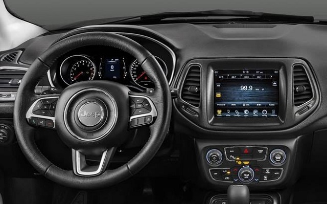 2021 Jeep Compass Interoir