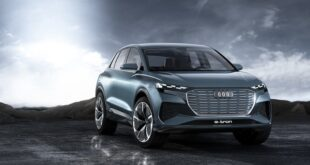 2022 Audi Q4 e-tron Render