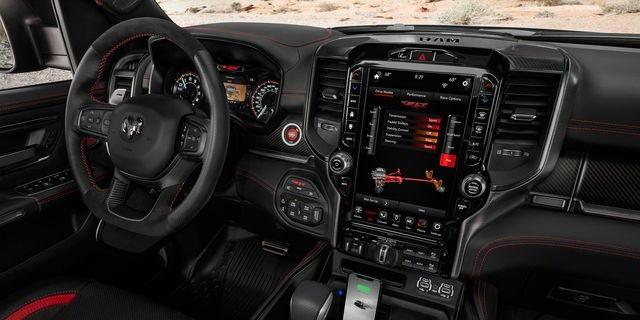 2021 Dodge Ramcharger Interior rendering