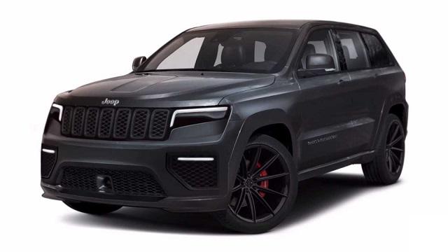 2021 Jeep Grand Cherokee Trackhawk Rendering