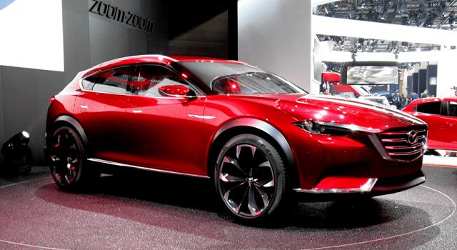 2021 Mazda CX-7 render