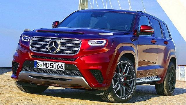 2021 Mercedes-Benz GLG Render
