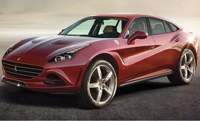 Ferrari SUV front