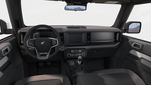 2021 Ford Bronco Interior Rendering
