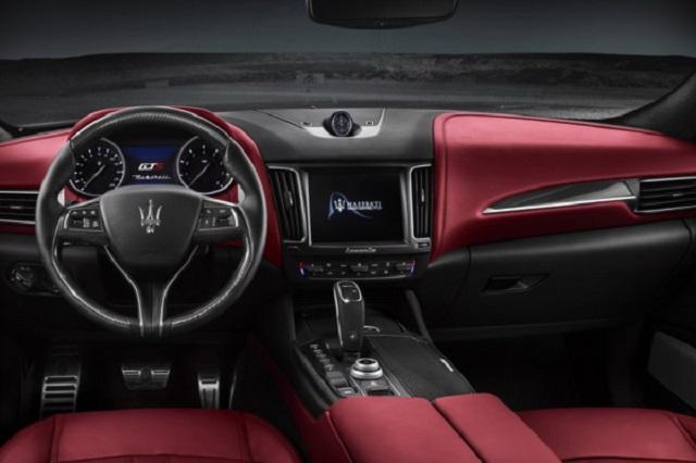2021 Maserati Levante GTS interior