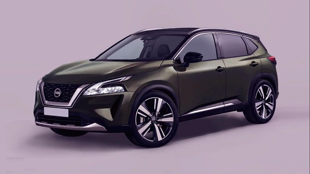 2021 Nissan Qashqai Rendering