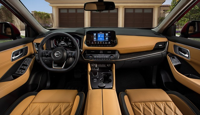2021 Nissan X-Trail Interior