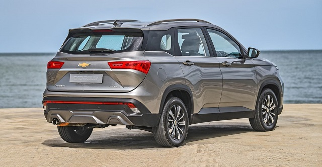 2021 Chevy Captiva release date