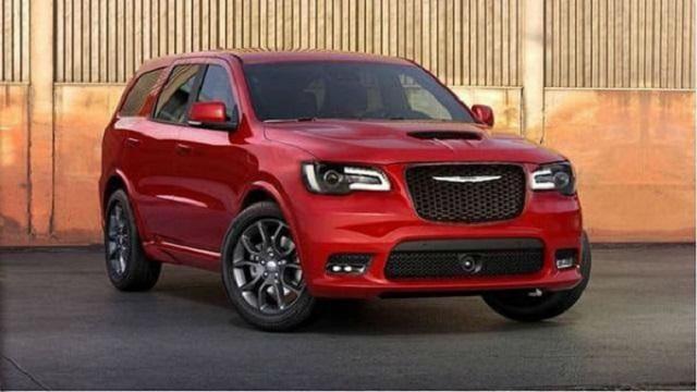 2021 Chrysler Aspen front render