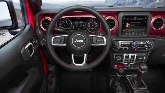 2021 Jeep Wrangler Rubicon Interior