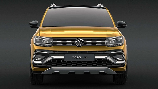 2021 VW T-Track front