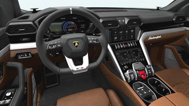 2022 Lamborghini Urus Plug-In Hybrid Interior