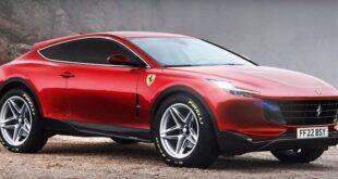 2022 Ferrari Purosangue render