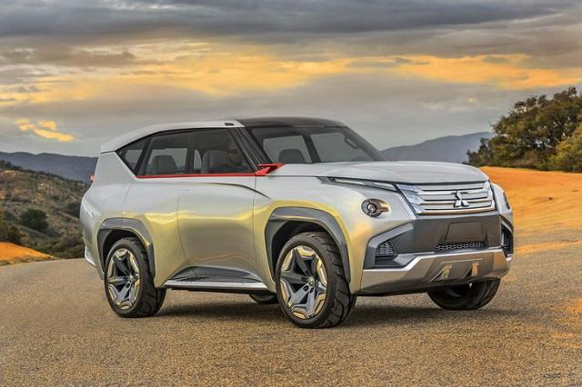 2022 Mitsubishi Pajero concept