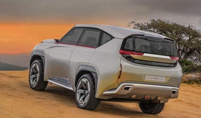 2022 Mitsubishi Pajero release date