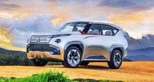 2022 Mitsubishi Pajero render