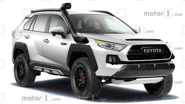 2022 Toyota RAV4 TRD Pro rendering
