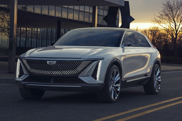 2023 Cadillac Lyriq design