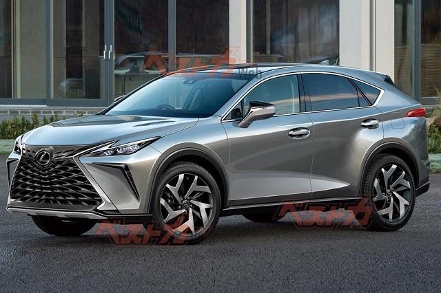 2022 Lexus NX Render CarBuzz