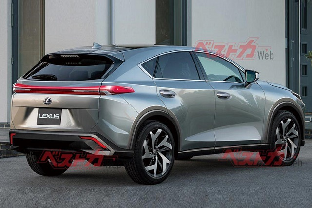 2022 Lexus NX Rendering CarBuzz