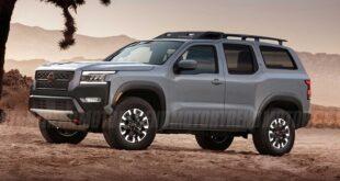 2022 Nissan Xterra Render