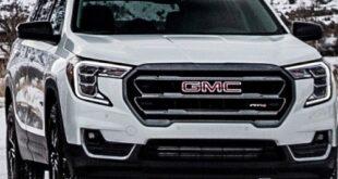 2022 GMC Terrain facelift