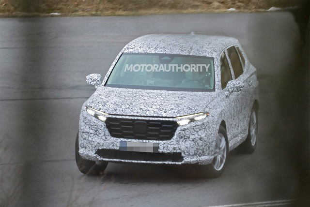 2022 Honda CR-V Spy Shot