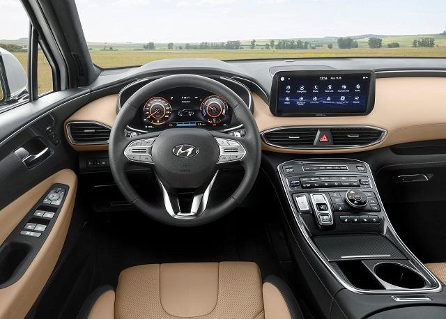 2022 Hyundai Santa Fe Hybrid Interior