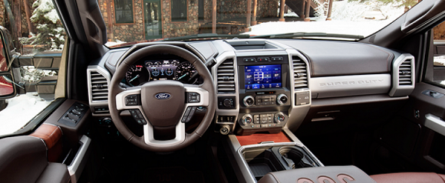 2022 Ford Excursion Interior Render
