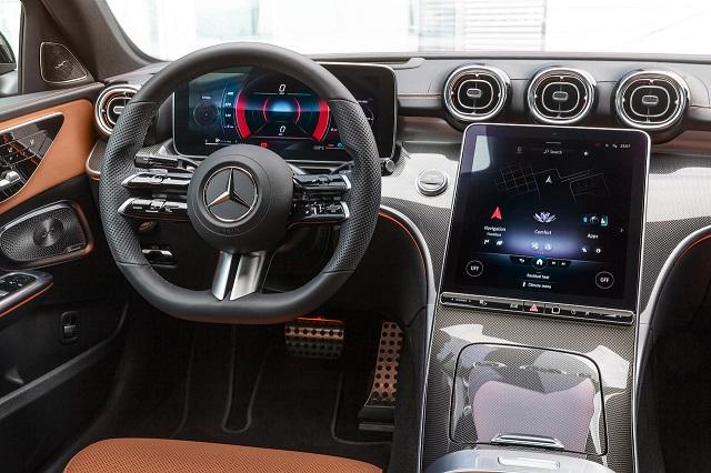 2022 Mercedes-Benz GLC Interior render