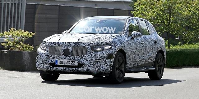 2022 Mercedes-Benz GLC Spy photo
