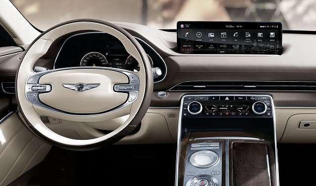 2022 Genesis GV80 Interior