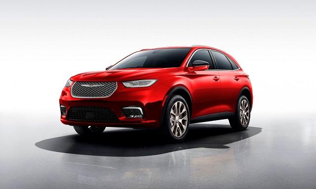 2022 Chrysler Aspen render