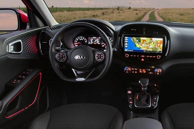 2022 Kia Soul Turbo Interior