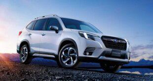 2022 Subaru Forester Wilderness Facelift