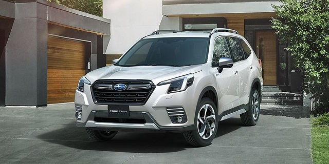 2022 Subaru Forester Wilderness refresh