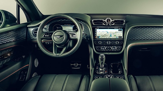 2022 Bentley Bentayga Interior