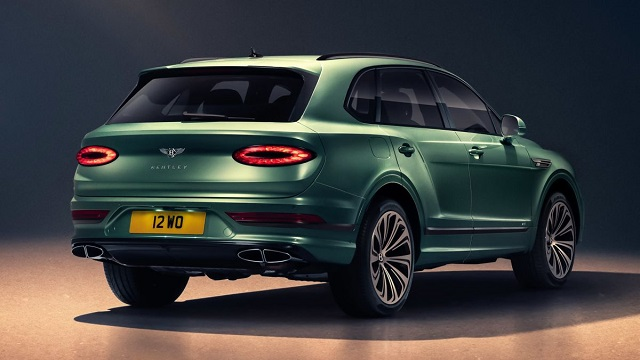 2022 Bentley Bentayga Release Date