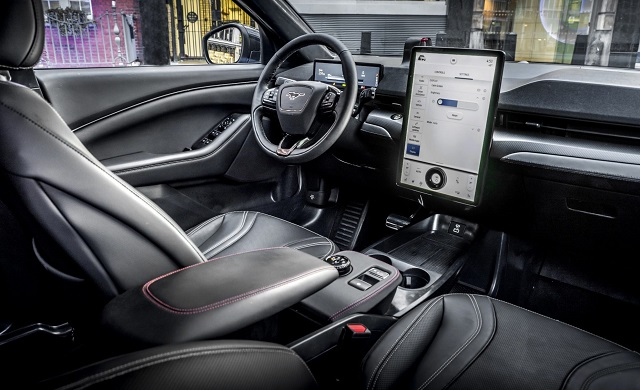 2022 Ford Mustang Mach-E GT Interior