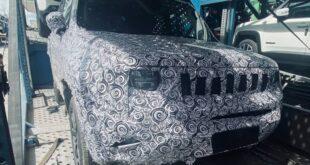 2022 Jeep Renegade spy shot