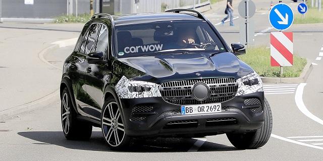 2022 Mercedes-Benz GLE facelift
