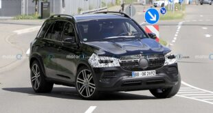 2022 Mercedes-Benz GLE spy shot