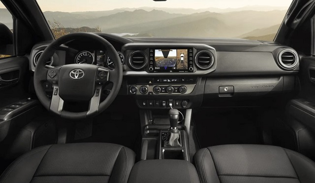 2022 Toyota Tacoma Redesign Interior